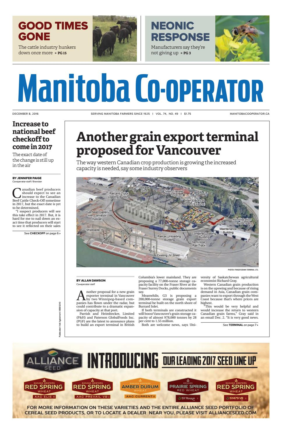 Manitoba cooperator by Farm Business Communications - issuu