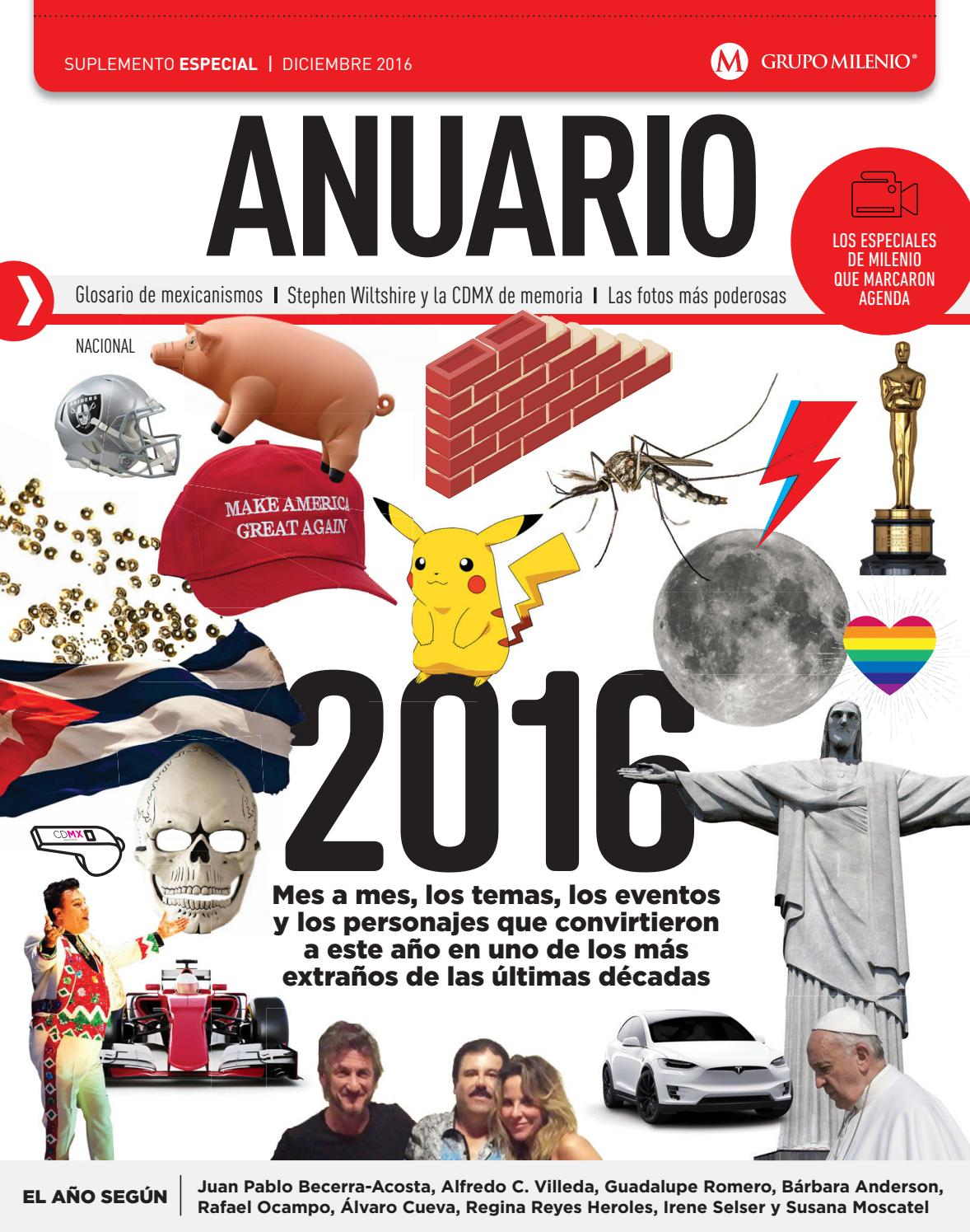 Anuario, dic/2016 by Suplementos - issuu
