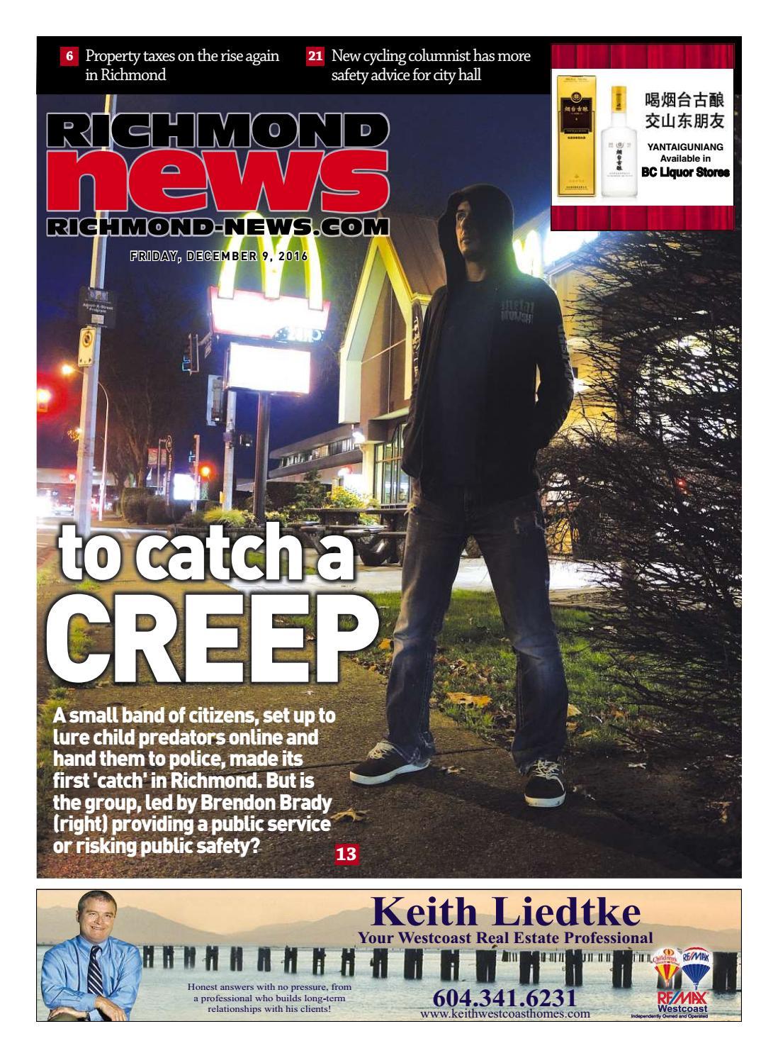 Richmond News December 9 2016 By Richmond News Issuu