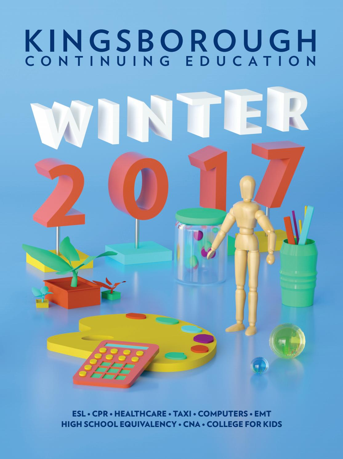 Continuing Education   Winter 2017 Catalog by Kingsborough Office of ...