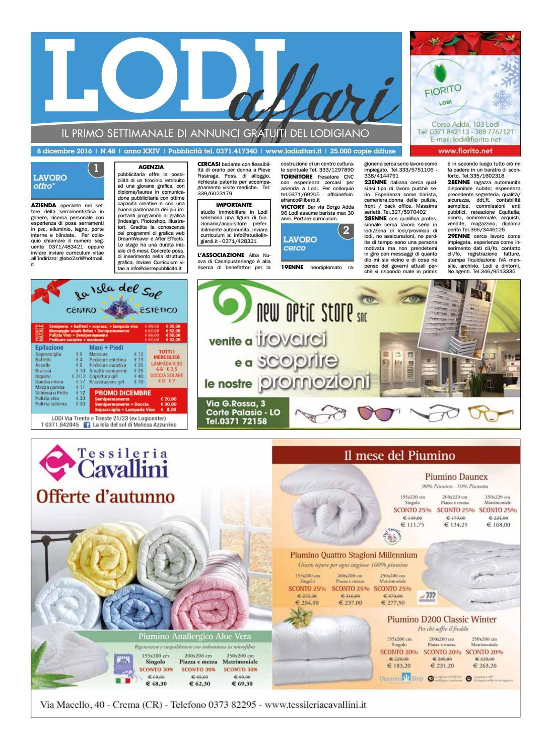 Lodi Affari 8 Dicembre By Lodi Affari Issuu