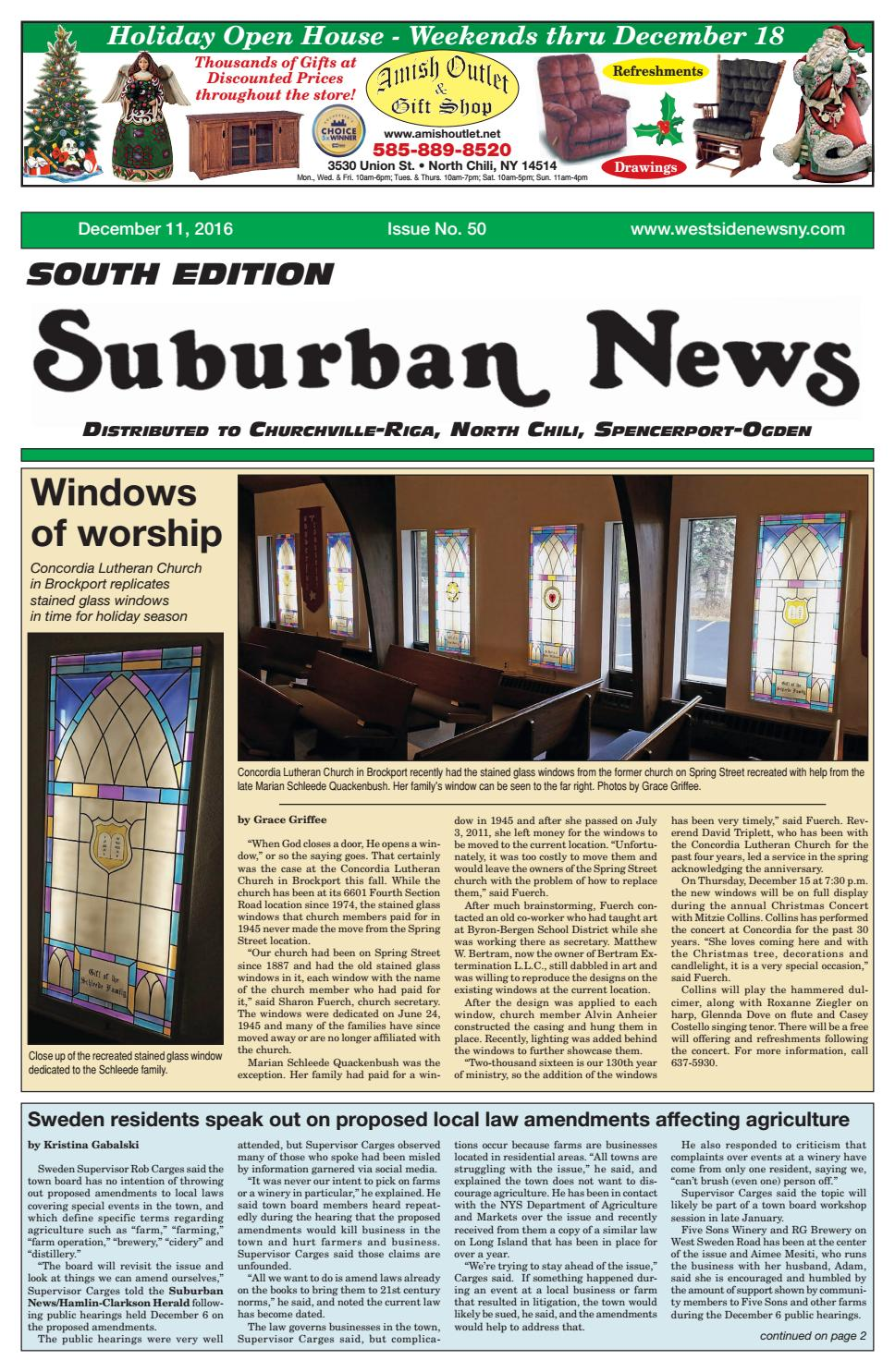 n door ralng nteror ralng desgns ron.htm suburban news south edition december 11  2016 by westside news  suburban news south edition december