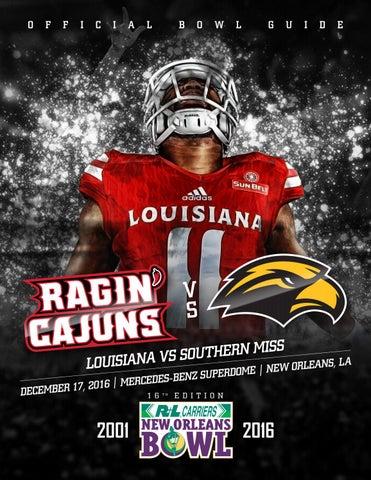 ada5175ca85 2016 LOUISIANA RAGIN' CAJUNS FOOTBALL GAME NOTES Louisiana Ragin' Cajuns  Sports Information • 201 Reinhardt Drive • Lafayette, LA 70506 • RaginCajuns .com