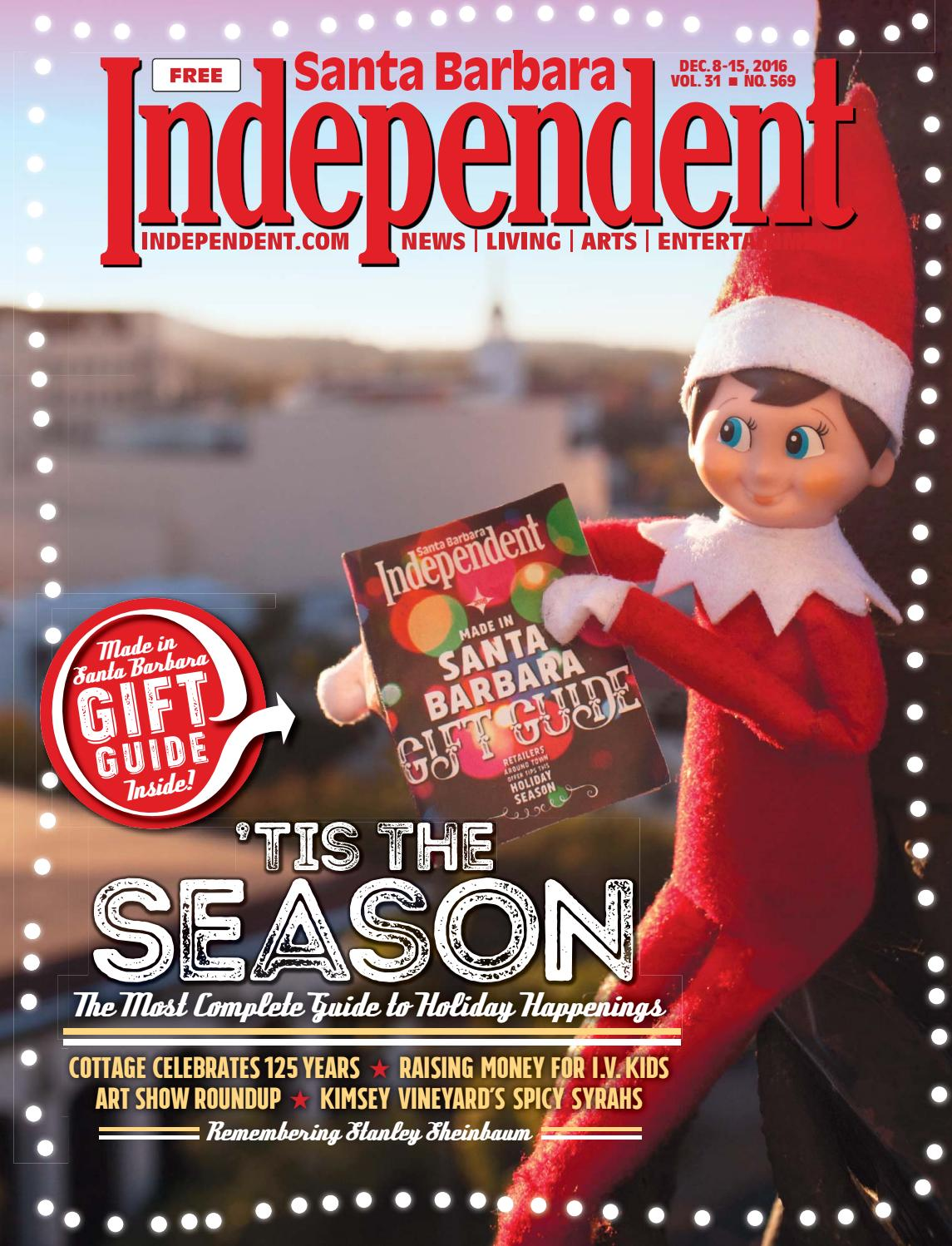 Santa Barbara Independent, 12/08/16 by SB Independent - issuu