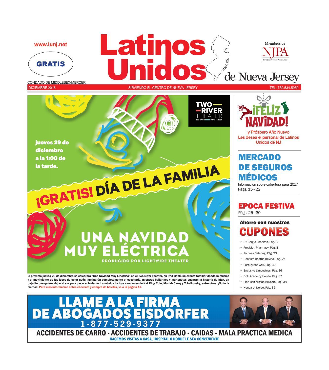 Middlesex-Mercer Dec 2016 - Latinos Unnidos de NJ by Latinos Unidos ...