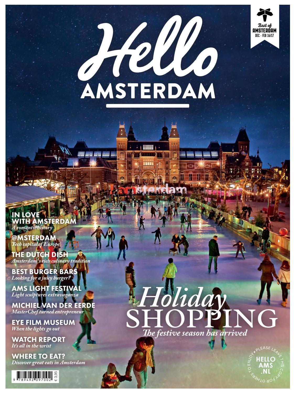 Hello Amsterdam 15 Jan Feb 2017 By Martijn Meyer Issuu