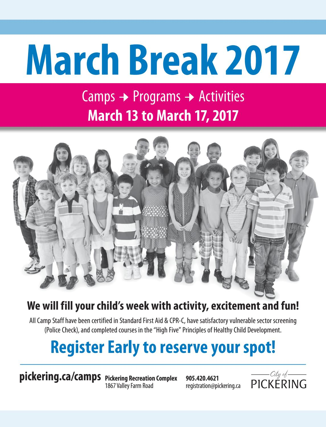 marchbreakcamps2017 by eSolutionsGroup Ltd - issuu