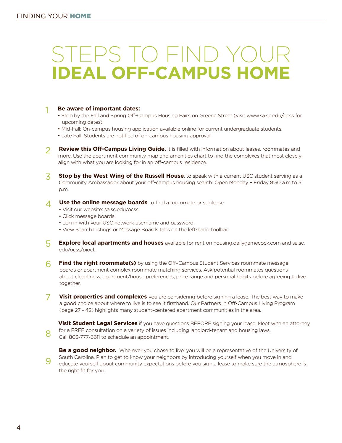 Living On- or Off-Campus: What's Best?