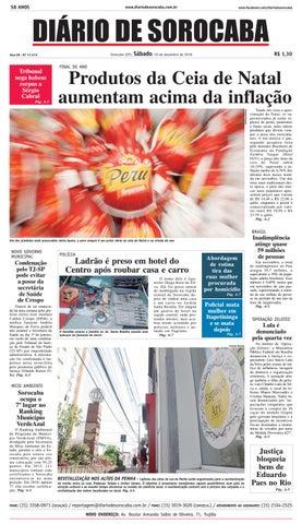 Edição de 10 de dezembro de 2016 by DIÁRIO DE SOROCABA - issuu 5b9d0663c5945