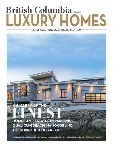 British Columbia Luxury Homes U2013 Parksville U2013 Qualicum Beach Edition U2013  December 2016