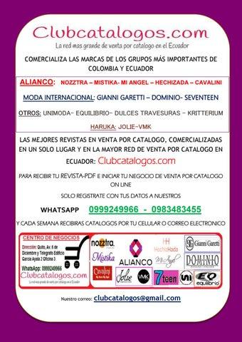 394b7dc76c COMERCIALIZA LAS MARCAS DE LOS GRUPOS MÁS IMPORTANTES DE COLOMBIA Y ECUADOR
