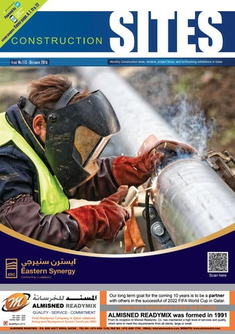 Construction Sites | December Issue no  113 by Qatar Construction