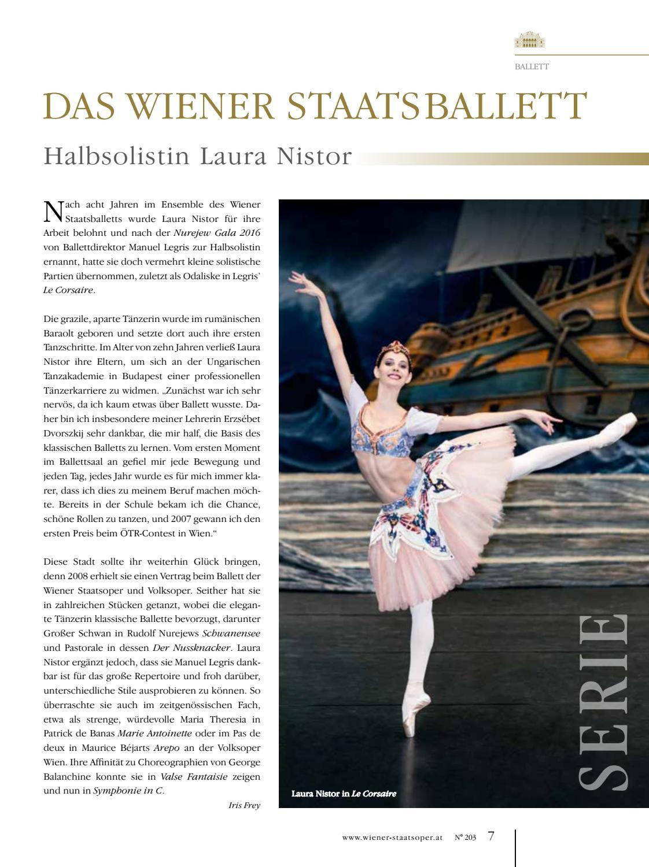 Prolog November 2016 | Wiener Staatsoper by Wiener