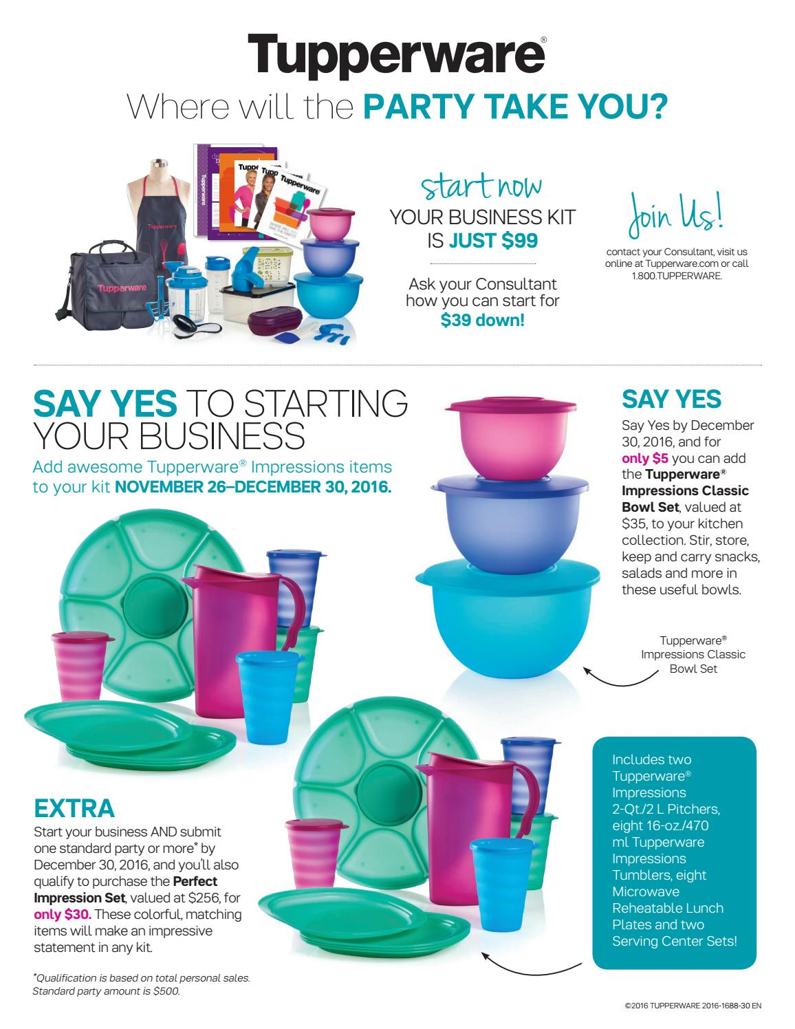 Tupperware Say Yes Offer by Jan Woods - issuu
