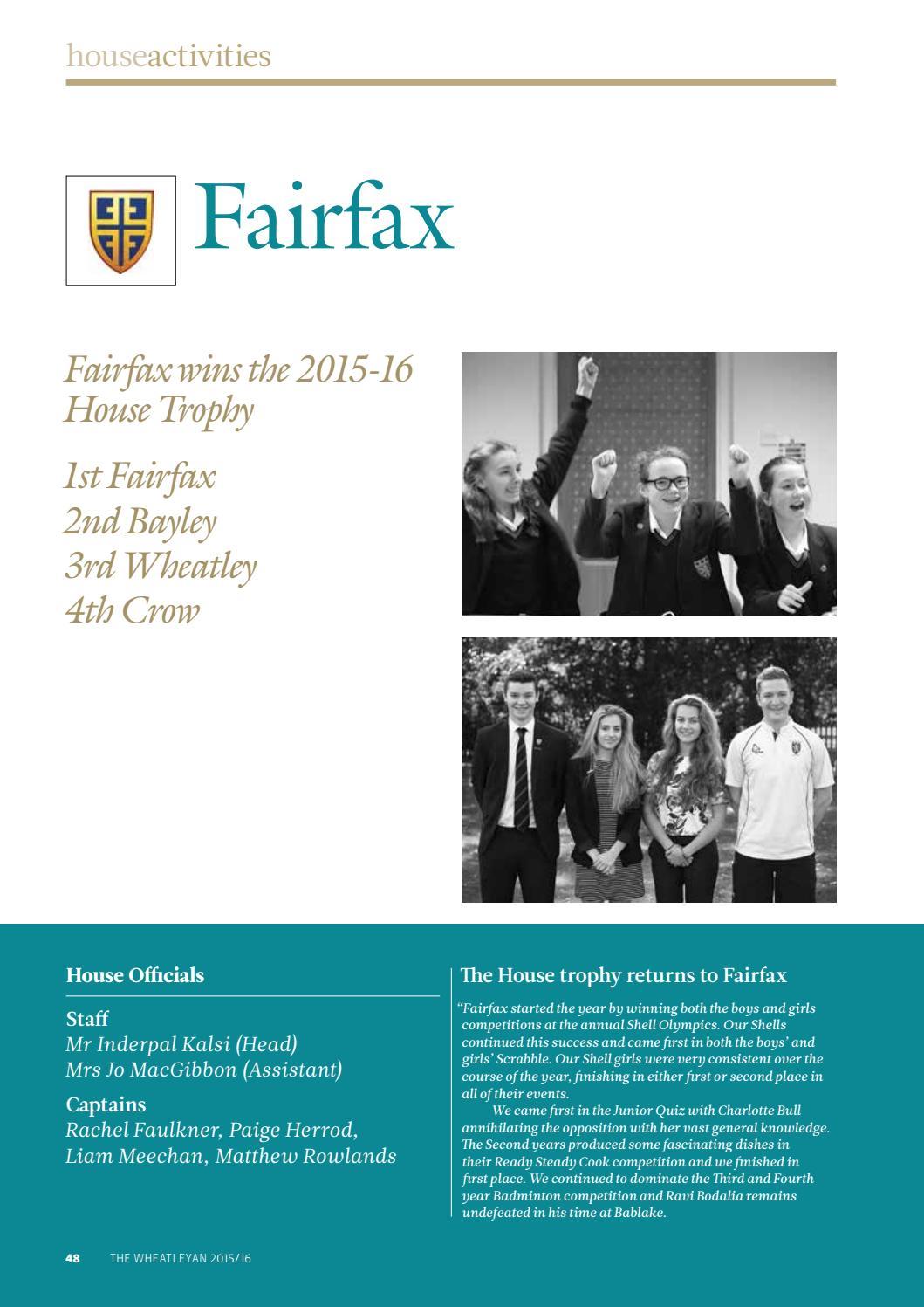 The Wheatleyan 2015-16 by Bablake - issuu