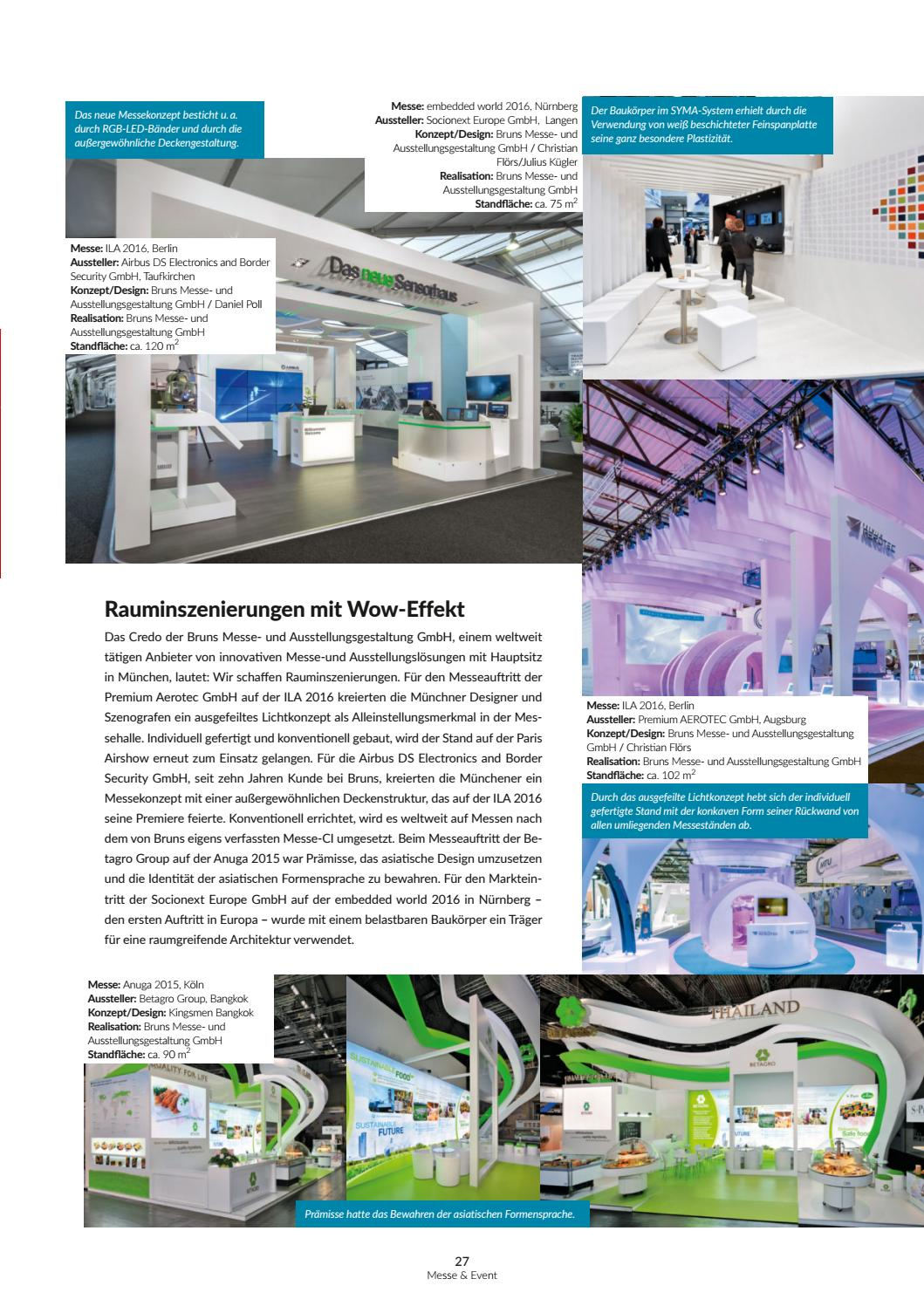 Bruns Messebau messe & event 5/2016messe & event magazin - issuu