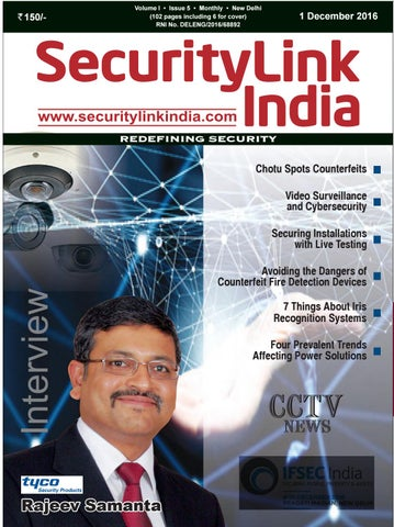 SecurityLink India Dec 2016 by Security Link India - issuu