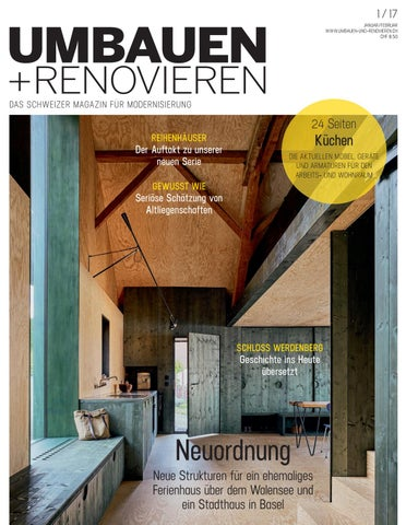 umbauen renovieren 1 2017 by archithema verlag issuu. Black Bedroom Furniture Sets. Home Design Ideas