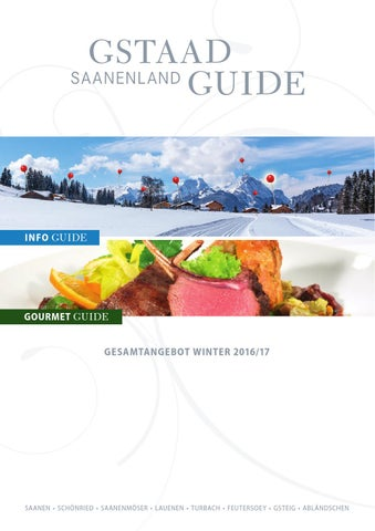 Gstaad Saanenland Guide Winter 2016 17 By Mdruck
