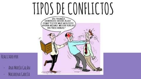 Tipos De Conflcitos En Imagenes By Ale Glez Issuu