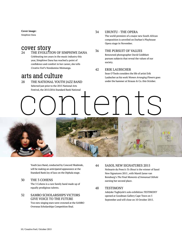 Creative Feel October 2015 by Creative Feel - issuu