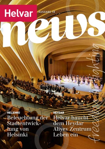 Helvar News Issue 18 (GERMAN) by Helvar - issuu