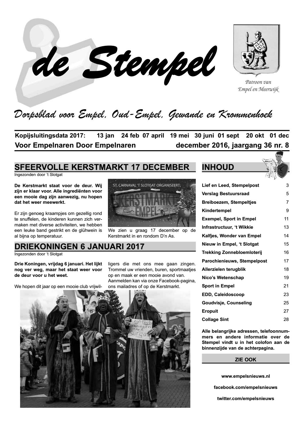 Stempel 2016 12 By Peter Wagenaar Issuu