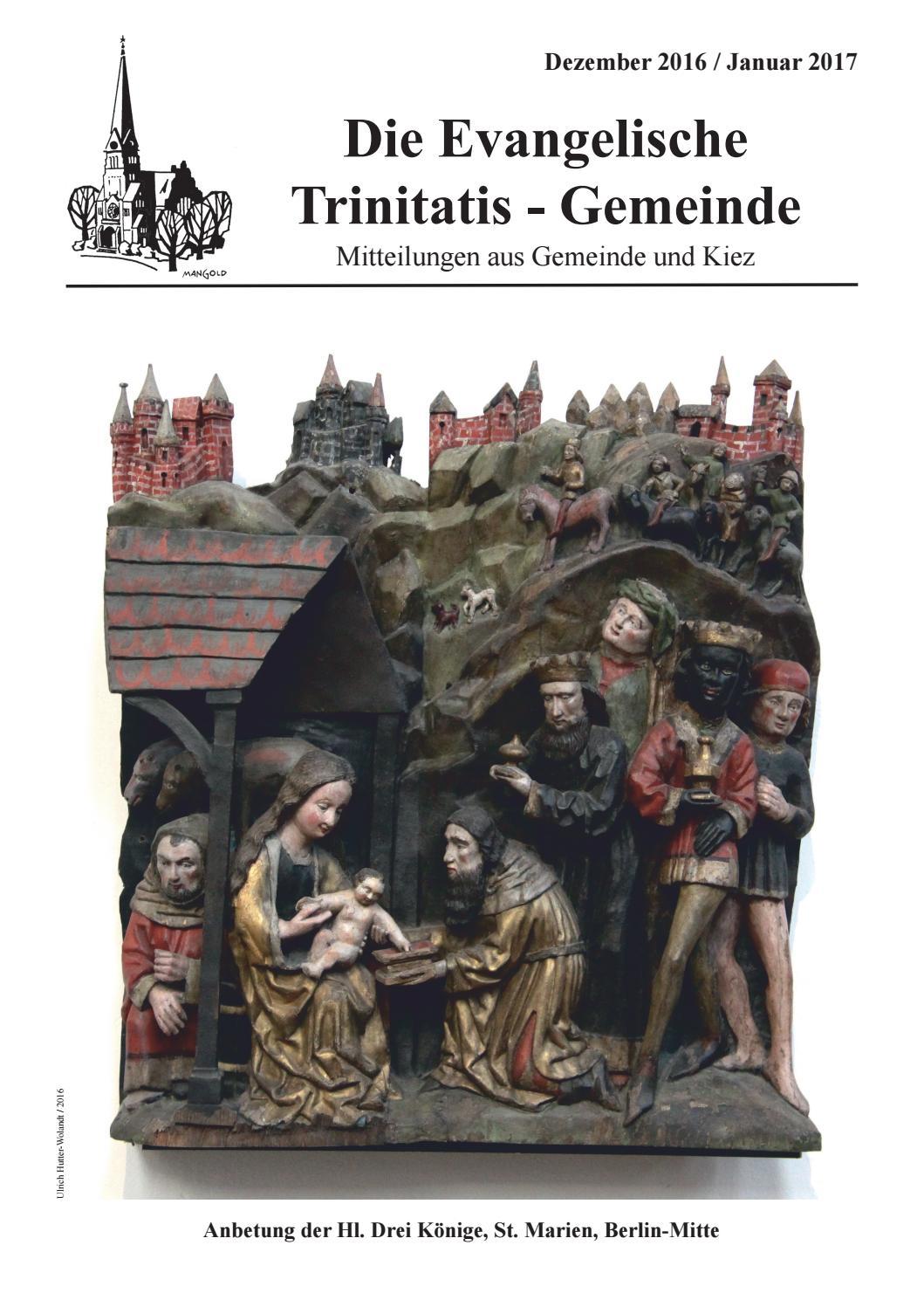 Gemeindezeitung 148 by Ev. Trinitatis-Kirchengemeinde Berlin - issuu