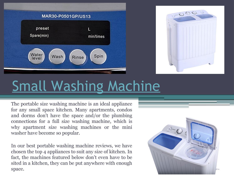 Small washing machine by Space Saver Microwave - issuu