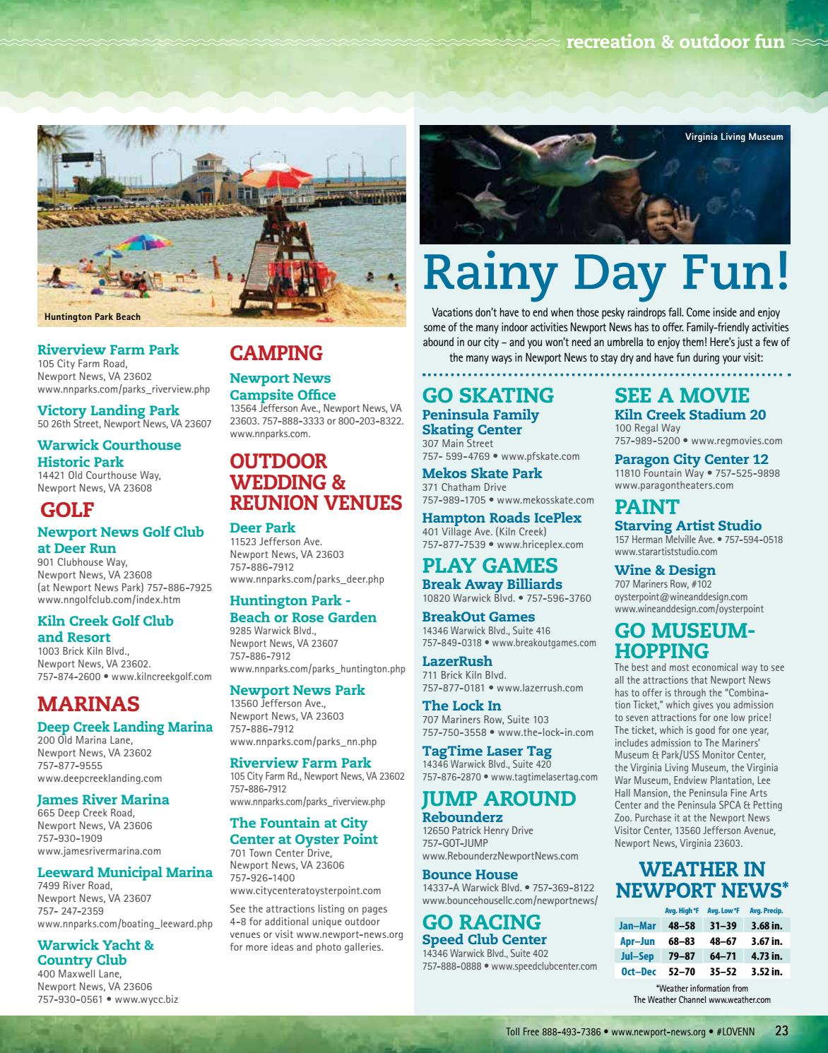 Newport News 2017 Visitor Guide by VistaGraphics - issuu