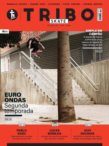Tribo Skate  244 by Revista Tribo Skate - issuu 5ec8fa30edf