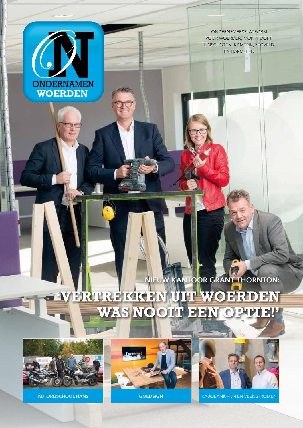 Ronde Tafel Woerden.Ondernamen Woerden Nr 4 December 2016 By Ondernamen Issuu