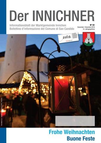 Nr./n. 81 2016 Der Innichner by Gemeinde Innichen - issuu