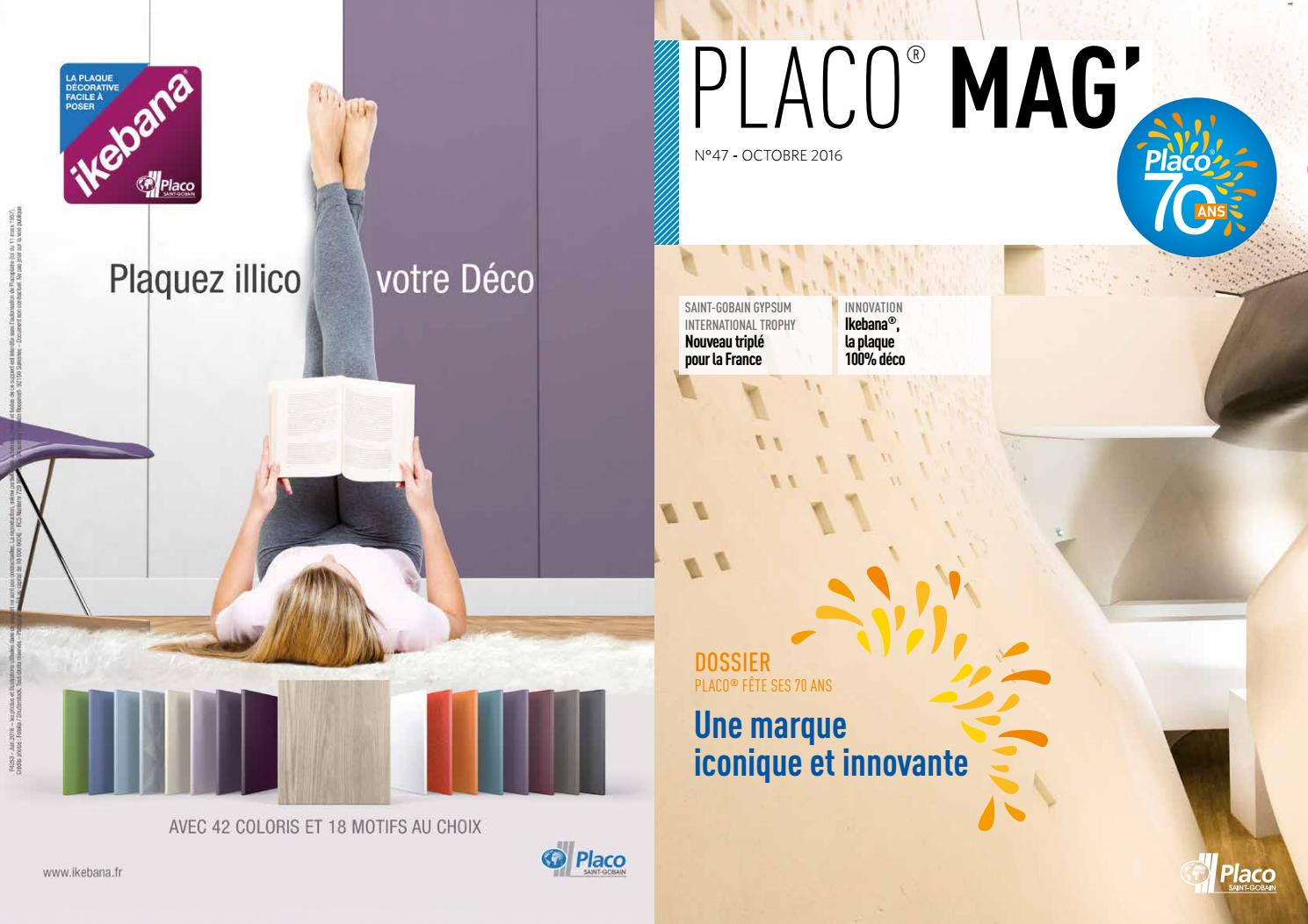 Remplacer Une Porte Par Du Placo placo® mag 47placo - issuu