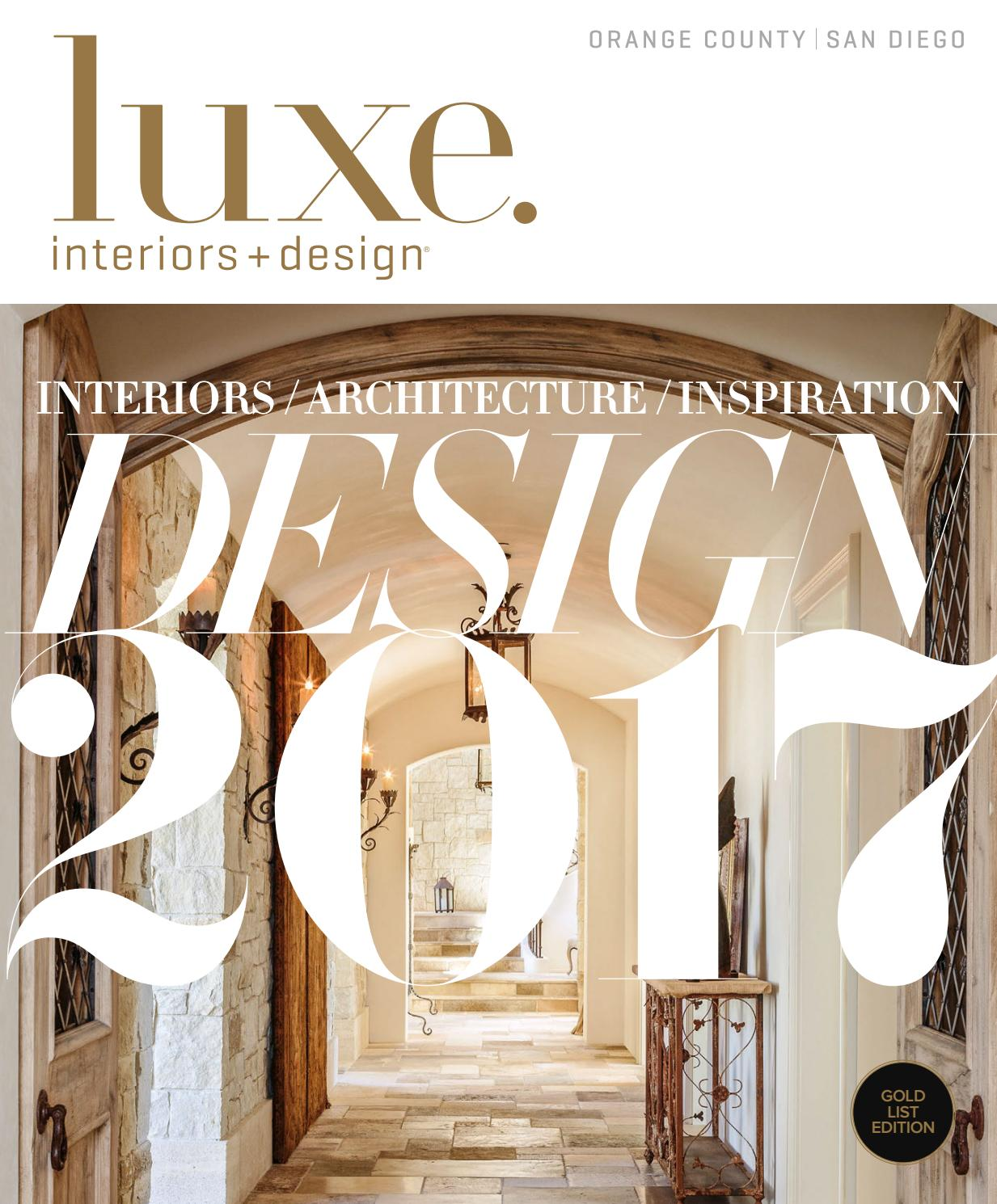 a i s spectacular september interior design s hall interior architecture new york Luxe Magazine January 2017 Orange County-San Diego by SANDOW® - issuu