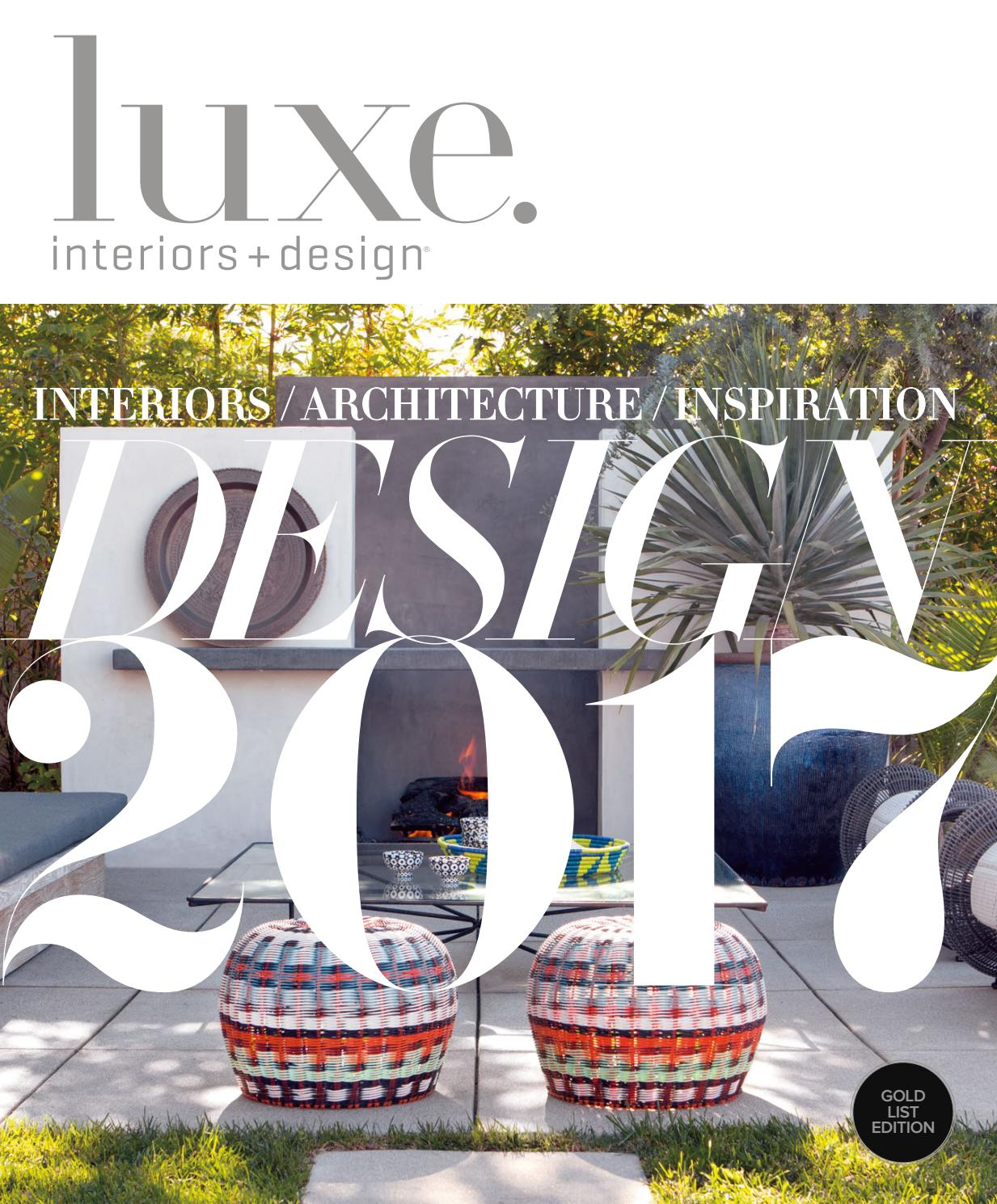 Luxe Magazine January 2017 Los Angeles By Sandow Issuu