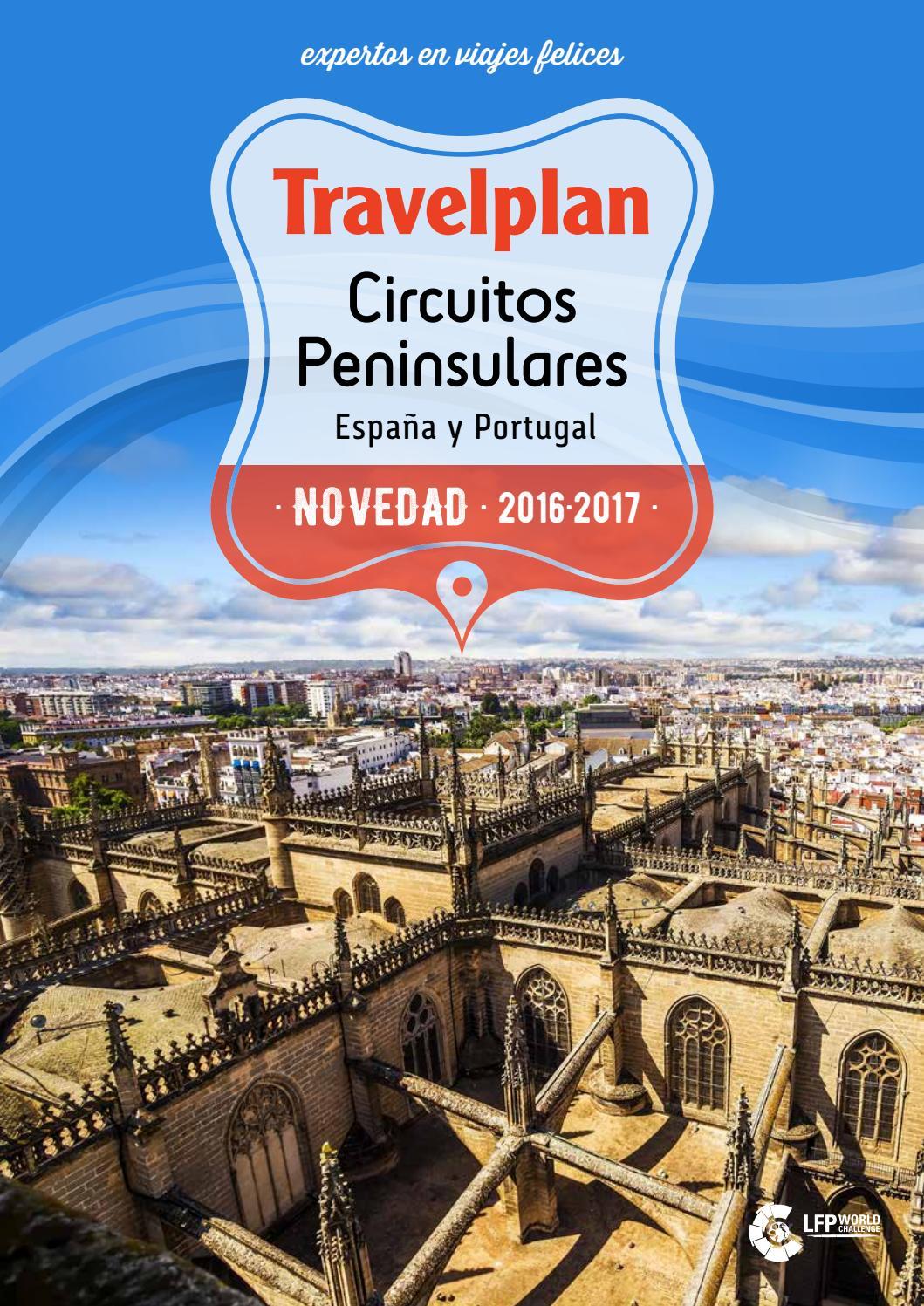 Travelplan Circuitos Peninsulares Novedad 2016 2017 By Globalia  # Muebles Mezquita Alcanices