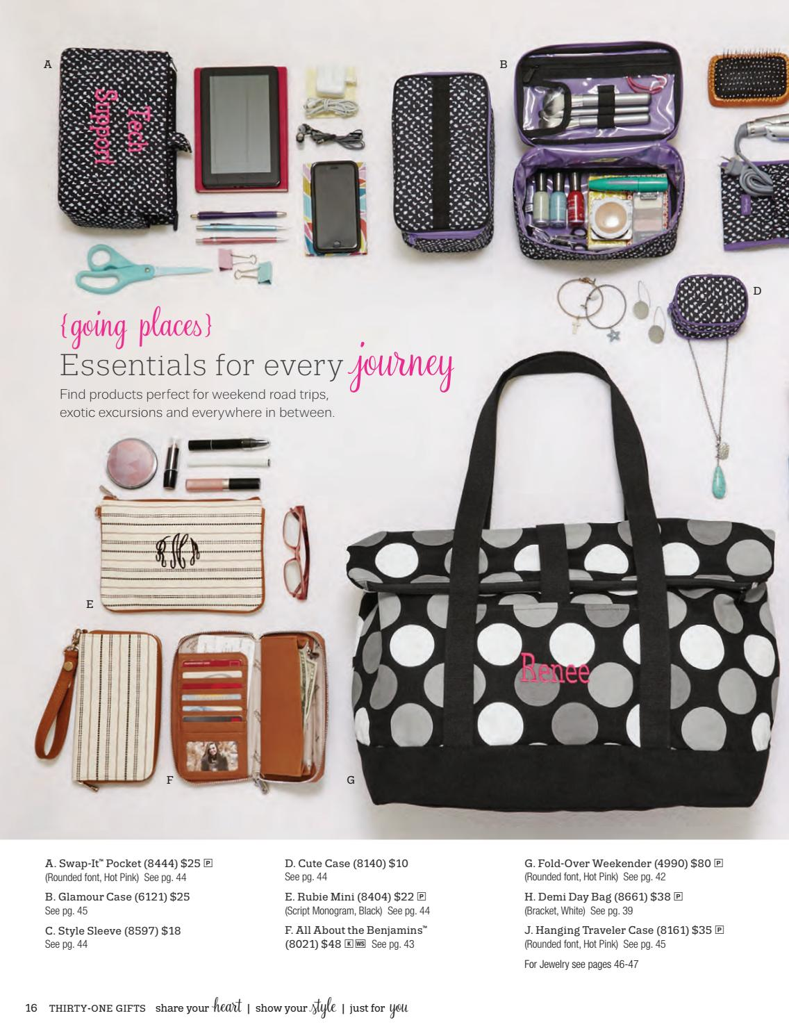 thirty one gifts spring summer 2017 catalog by jessica ricketts