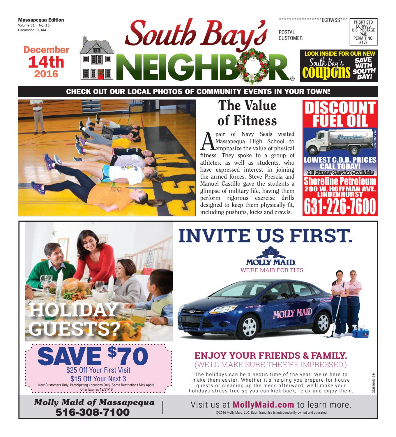 December 14 2016 Massapequa by South Bay s Neighbor Newspapers issuu