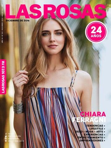 b5c8472e3a3d Chiara Ferragni - Edición 241 by Revista Las Rosas - issuu