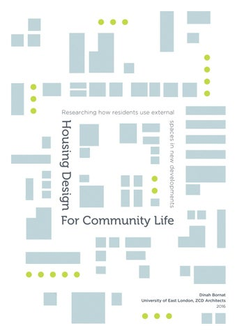 Attrayant Housing Design For Community Life By ZCD Architects   Issuu