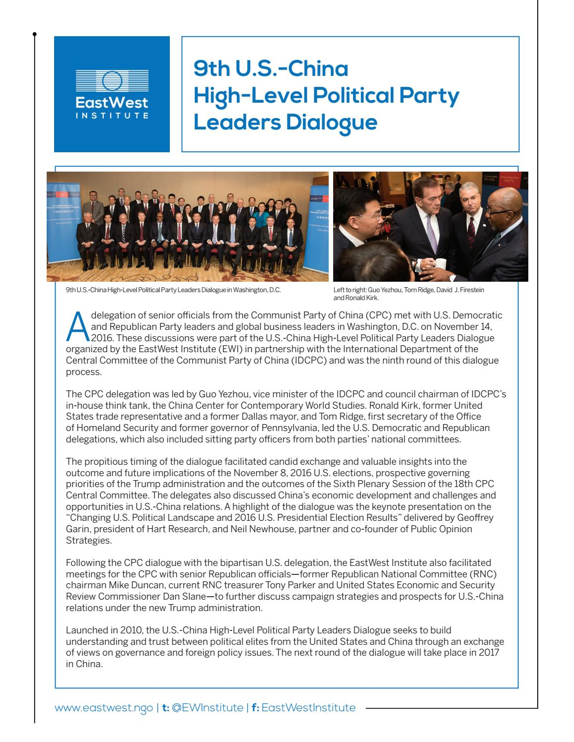 9th u s high level political party leaders dialogue 9th us high level political p 4 months ago ewipublications