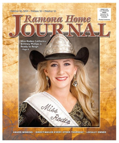 7073c1d3032d51 Ramonahomejournal oct 20 16 by Ramona Home Journal - issuu
