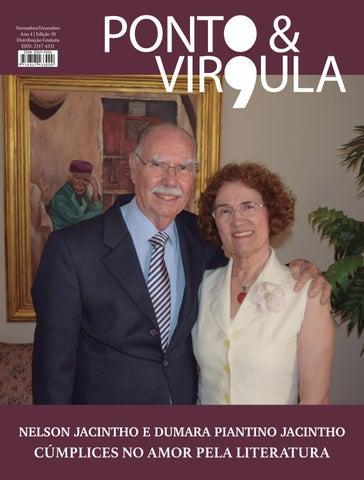 """Cover of """"Revista Ponto & Vírgula - Ano 4 - Edição 30 - Novembro/Dezembro 2016"""""""
