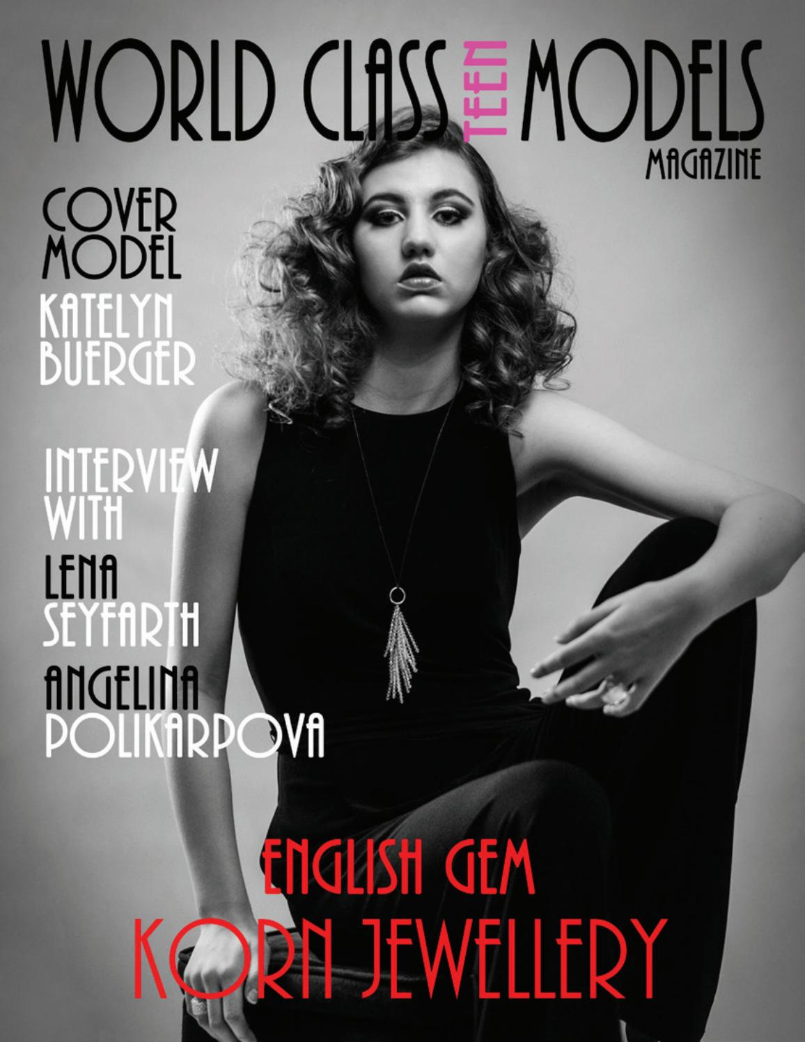 World Class Teen Models Magazine Issue 1 Katelyn Buerger