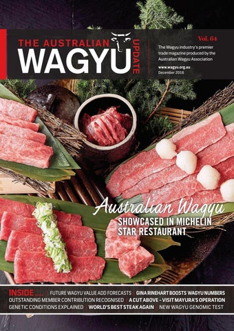 Web wagyu update issue 64 by Australian Wagyu Association - issuu