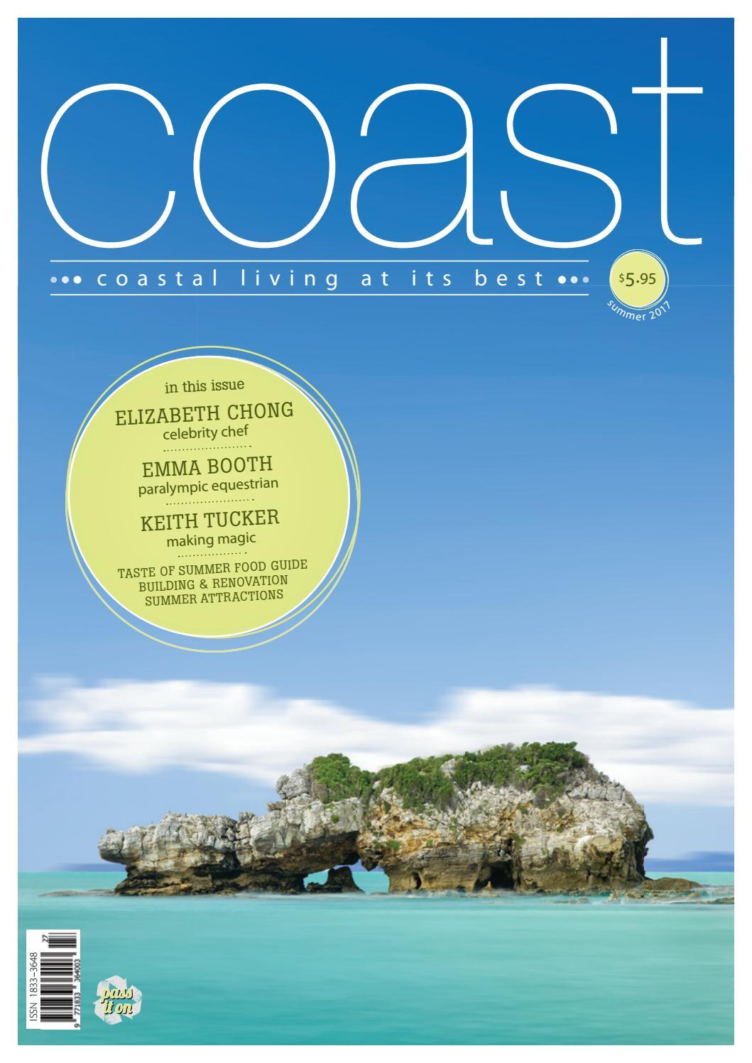 Coast Magazine Summer 2017 Issuu By Media Pty Ltd