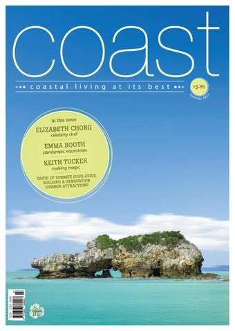 Coast magazine summer 2017 issuu by Coast Media Pty Ltd - issuu