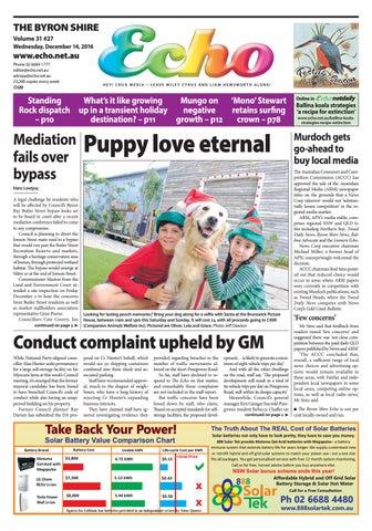 8b3e494f96f Byron Shire Echo – Issue 31.27 – 14 12 2016 by Echo Publications - issuu
