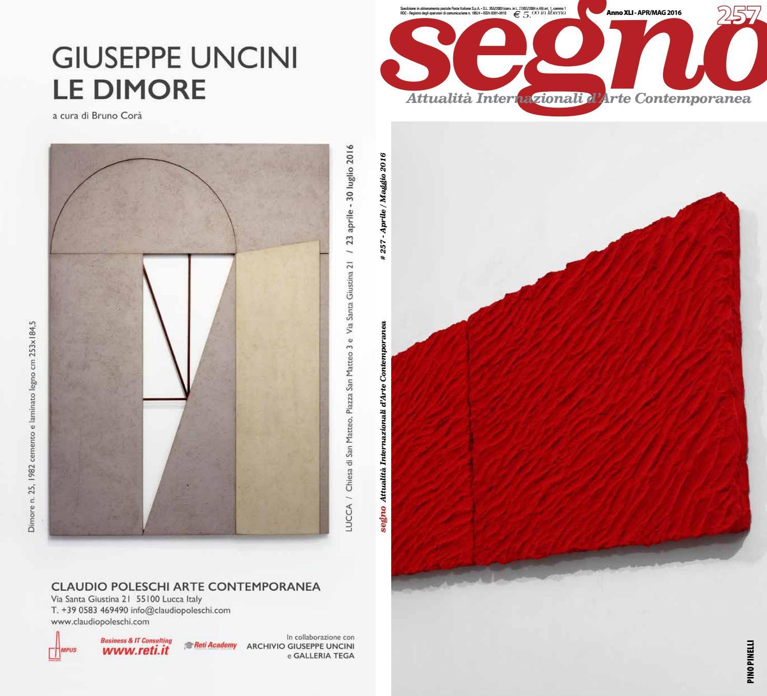 Segno 257 by Rivista Segno - issuu 7b2a758ca9cf